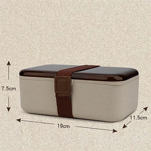 RFVBNM Japonés Bento cajas caja de almuerzo microondas ...