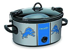 Crock-pot SCCPNFL600-DL Electric Cooking, Blue/Gray