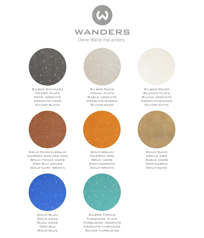 Wanders24 Effet Brillant 1 Litre Violet Argent é