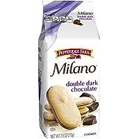 3 Count Pepperidge 7.5 oz Double Dark Chocolate Farm Milano Cookies
