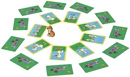 Haba 4712 - Juego de cartas infantil: a paso ganso: Amazon ...