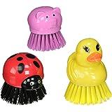 Animal Scrub Brush Set of 3