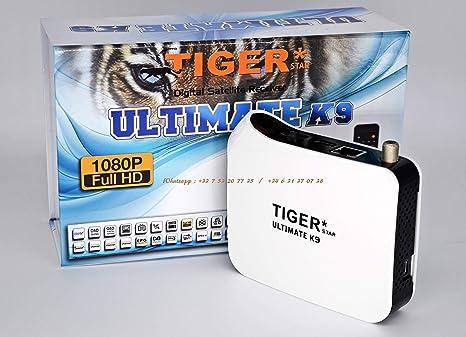 Tiger Ultimate K9 | Digital Receiver - Satellite & IPTV: Amazon co