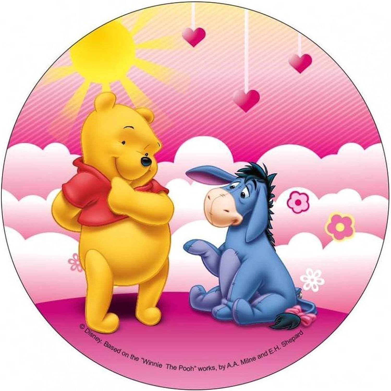 Modecor Disco di Ostia Winnie The Pooh 21 cm Taglia Unica