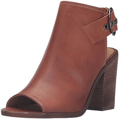 Steve Madden Women's Parlor Dress Sandal, Cognac Leather, ...