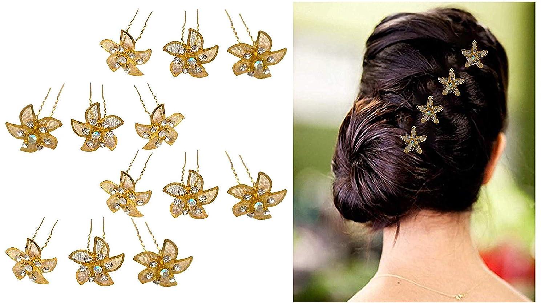 Amazon Aasa Bridal Juda Pins For Bun Decoration Flower Hair