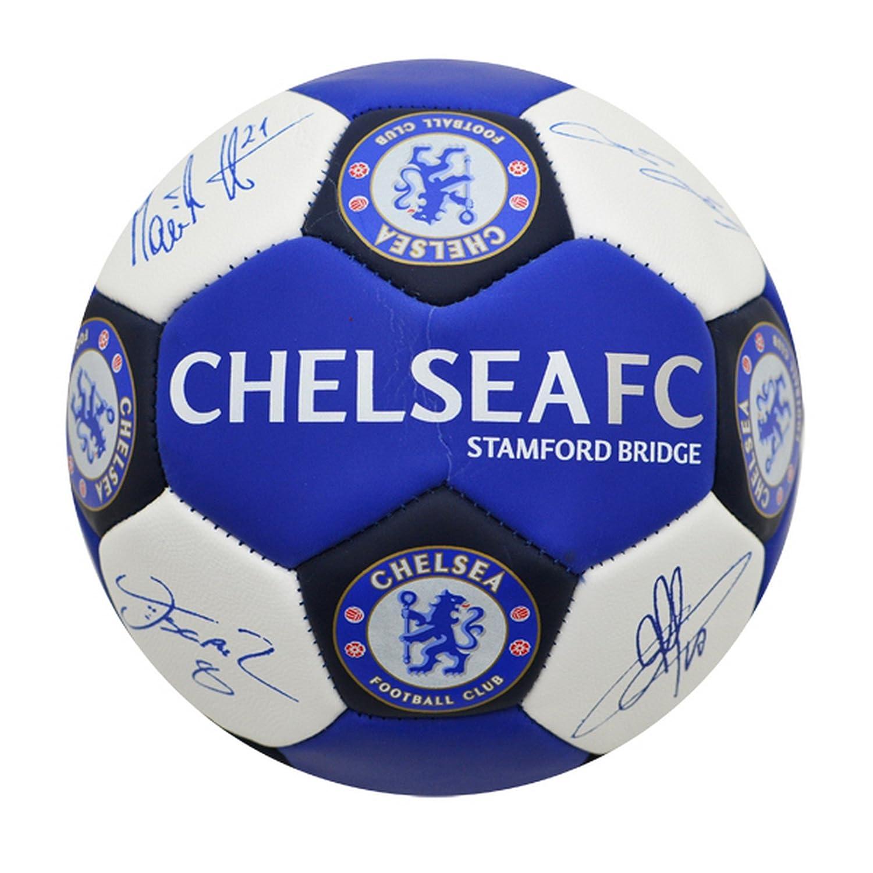 Chelsea FC - Baló n oficial con las firmas de los jugadores (Talla 3) UTSG6084_1