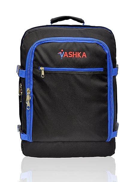 Bolsa de mano Massive de 44 litros Maleta de Viaje de Mano 55x40x20 cm - Azul Marino: Amazon.es: Equipaje