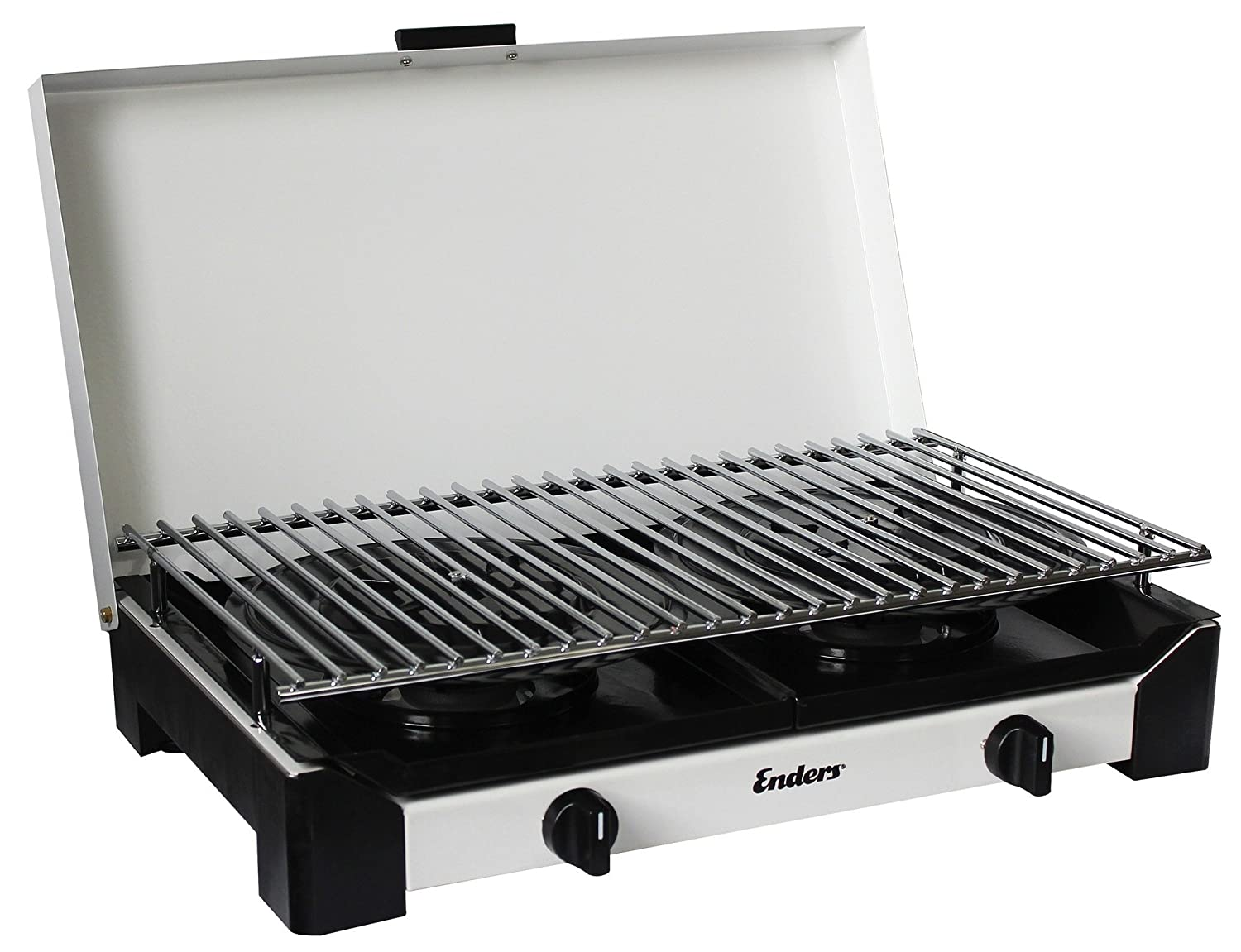 Enders Gasgrill Camping : Enders 1786 campingkocher grill sydney mit zs 2 flammig: amazon.de