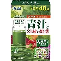 朝しみこむ力 青汁と21種の野菜 40袋