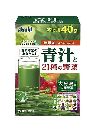 Amazon   朝しみこむ力 青汁と21...