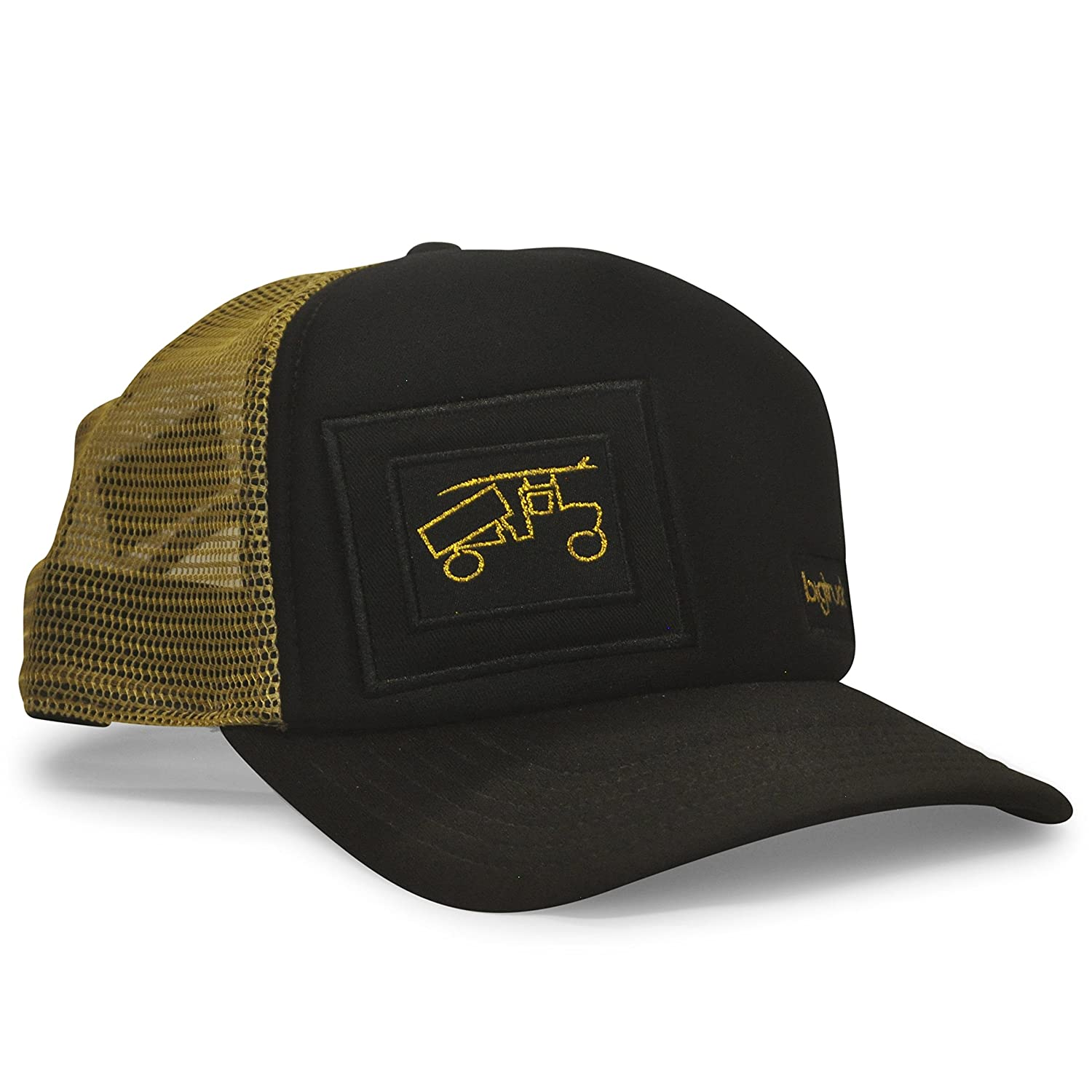 aba1f581 bigtruck: seeking fun and adventure in everything we do. high profile  trucker hat adjustable snapback for the perfect fit