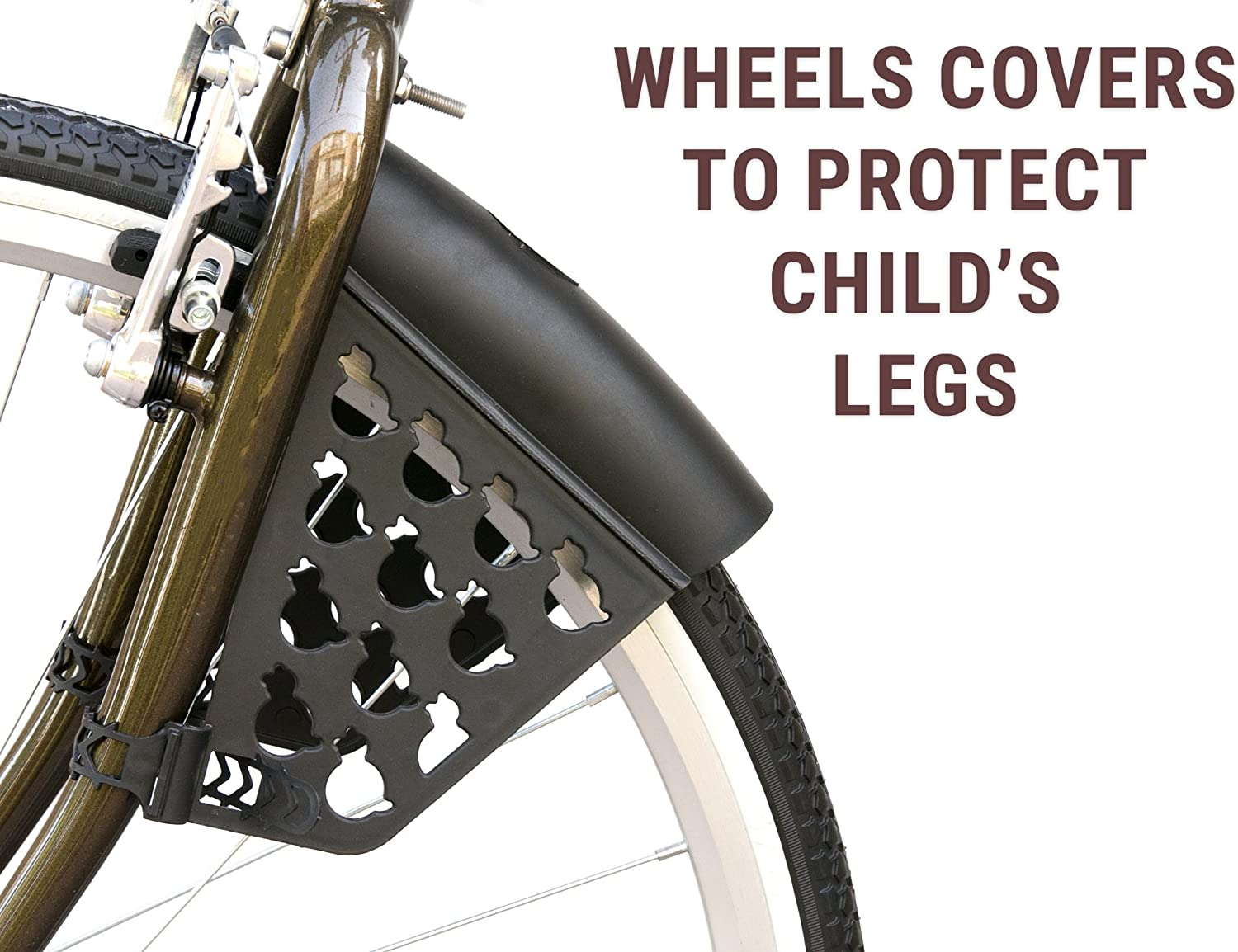 Front Fork Bicycle Child Seat Carrier Bikes Mount Made In Italy Bellelli Pulcino