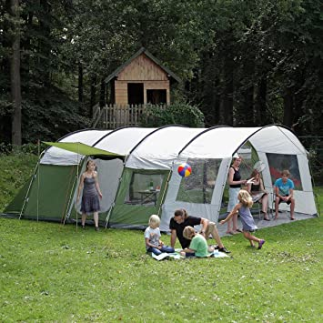 Skandika Saturn 8 Man Tent - Green & Skandika Saturn 8 Man Tent - Green: Amazon.co.uk: Sports u0026 Outdoors