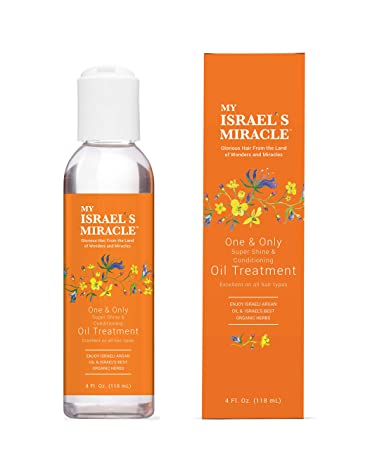 Herbal Oil Treatment – My Israel's Miracle – One and Only Super Shine and  Conditioning – Powerful