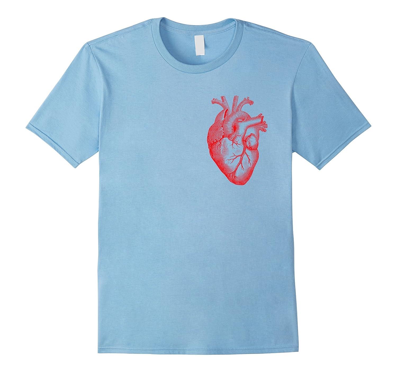 Cardiologist T-Shirt - Heart Anatomy Cardiology Shirt-ANZ