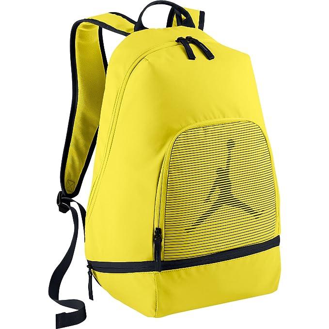 edb1d3e10f Air Jordan Jumpman Graphic Backpack Vibrant Yellow Black 656910-703 (Size  os)