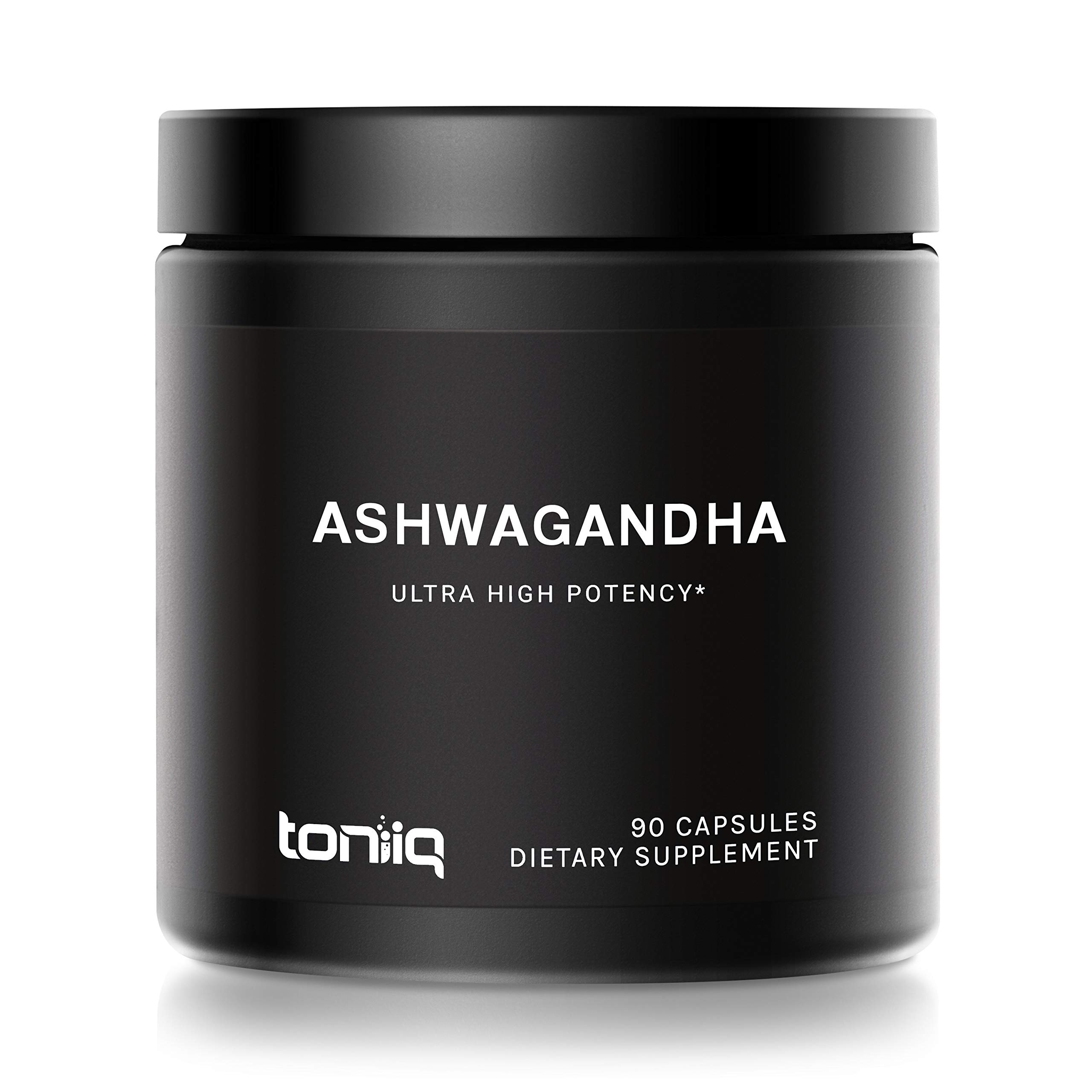 10% Withanolides Ultra High Strength Ashwagandha Capsules - 19,500mg 15x Concentrated Extract - Wild Harvested in India - The Strongest Ashwagandha Available - 90 Caps