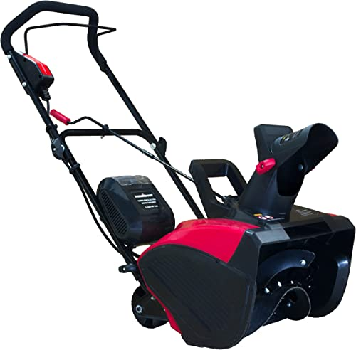 PowerSmart DB2401 Single Stage Cordless Snow Blower