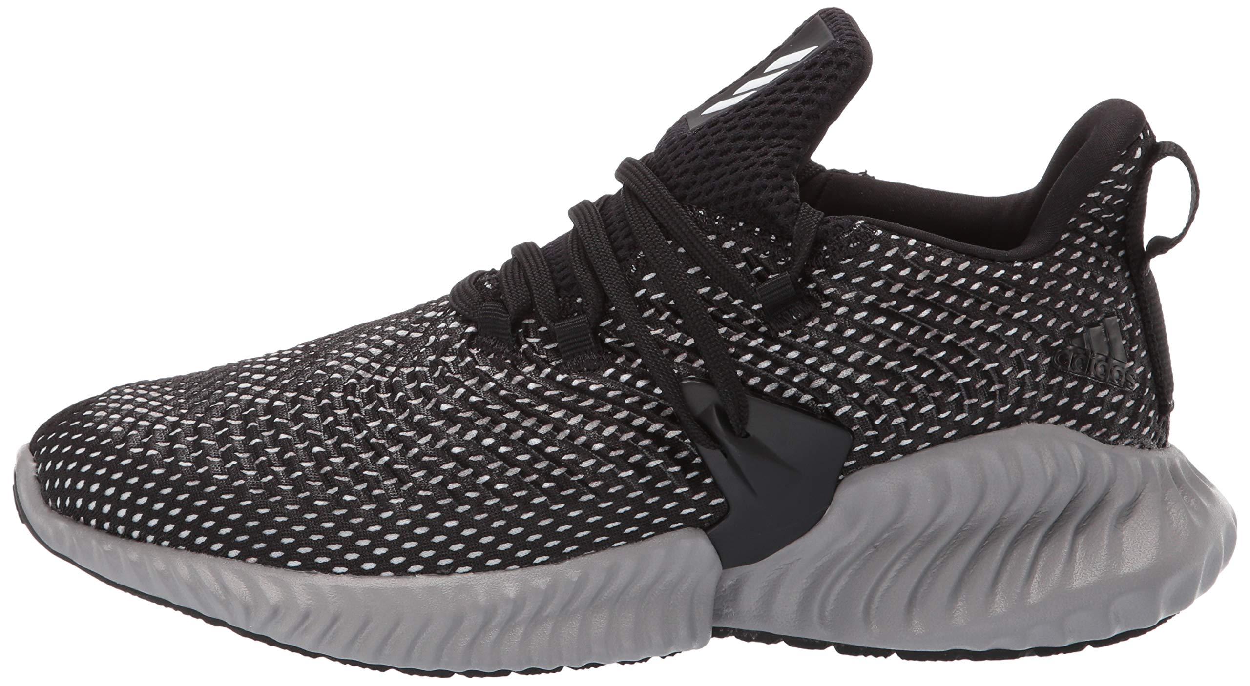 Adidas Kids Alphabounce Instinct, Black/White/Grey, 1 M US Little Kid by adidas (Image #5)