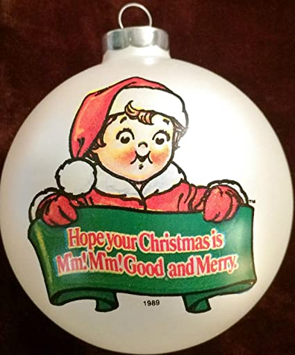 Vintage CAMPBELL SOUP KIDS Christmas Ornament (1989/New) - Amazon.com : Vintage CAMPBELL SOUP KIDS Christmas Ornament (1989/New