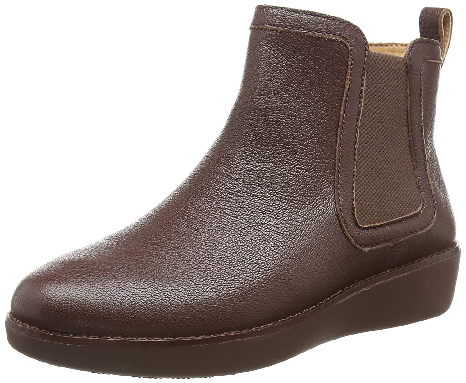 FitFlop Trade; Chai™ Leather Chelsea Boots B0792JF8TT 8 B(M) US|Espresso