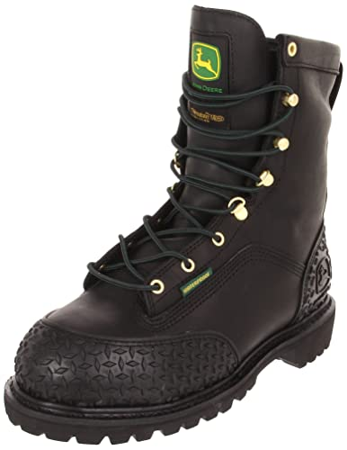 Amazon.com | John Deere Kids Men's JD9350 Work Boot | Industrial ...