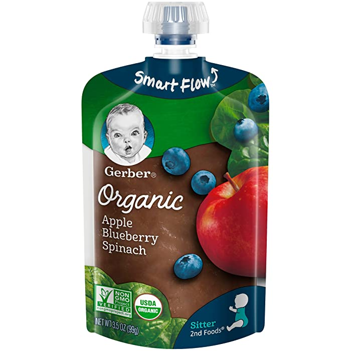 The Best Organic Spinach Baby Food