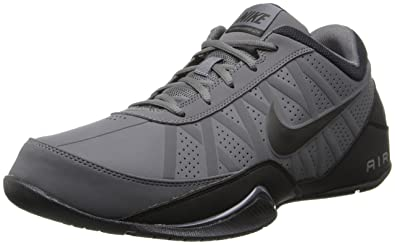 07df9662c7ff40 Nike Men s Air Ring Leader Low Basketball Shoe Dark Grey Black Size 8 ...