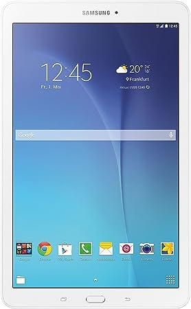 Samsung Galaxy Tab E SM-T561N 8GB 3G Color blanco - Tablet (MicroSD (