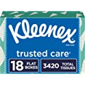 (2 x 18-Pack) Kleenex Trusted Care Everyday Facial Tissues