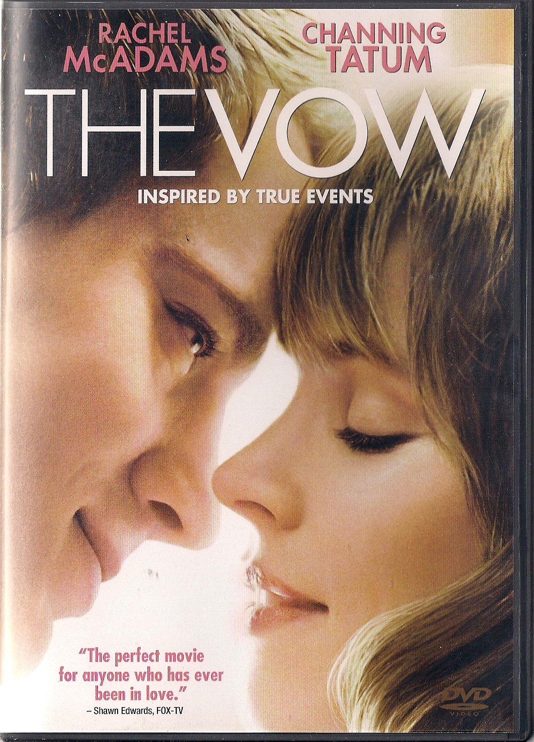 Amazon Com The Vow 2012 Dvd Channing Tatum Rachel Mcadams Jessica Lange Sam Neill Michael Sucsy Movies Tv