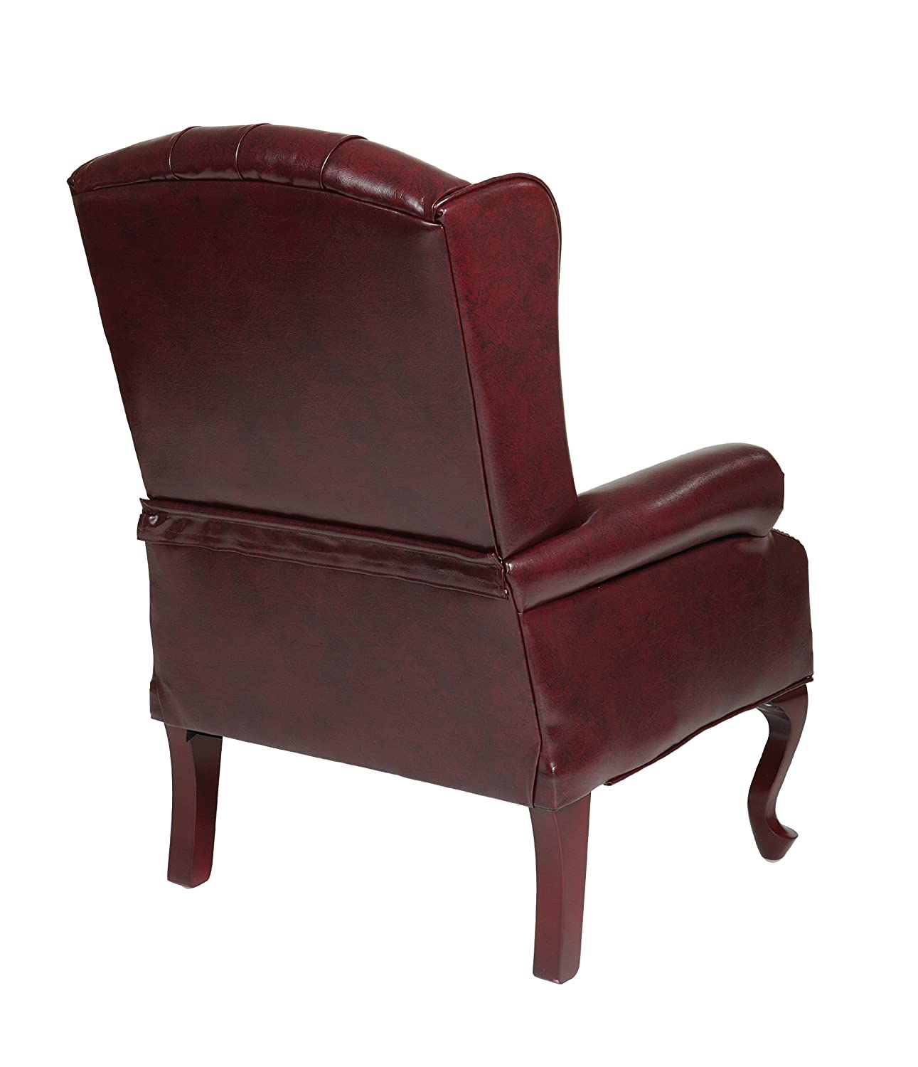 Amazon fice Star Traditional Queen Anne Style Vinyl Chair