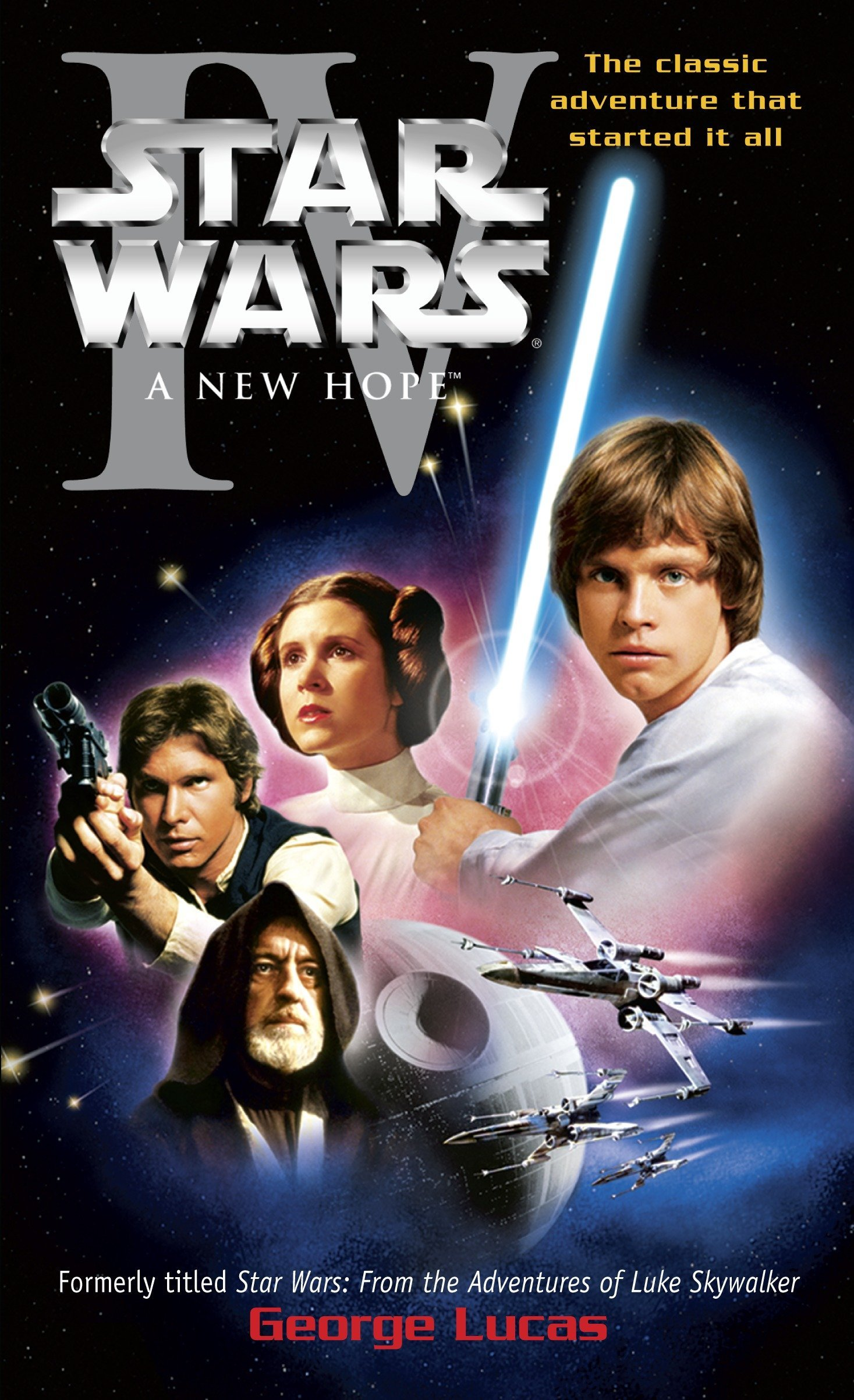 Star Wars, Episode IV: A New Hope: George Lucas: 9780345341464: Amazon.com:  Books