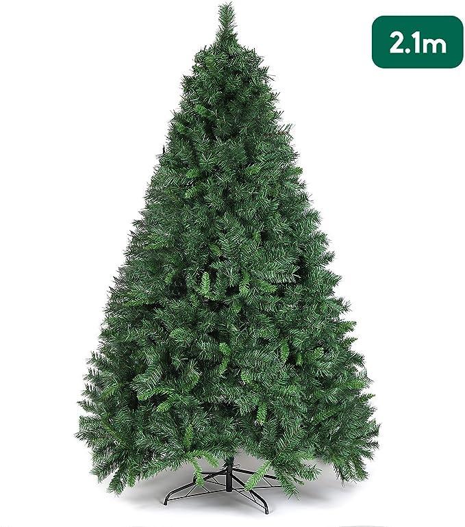 SALCAR Árbol de Navidad de 210 cm, Árbol Artificial con 868 Puntas ...