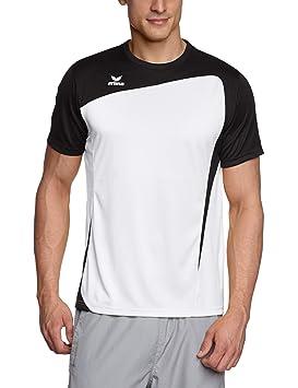erima T-Shirt Club 1900 - Camiseta, color negro/blanco, talla L: Amazon.es: Deportes y aire libre