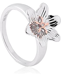 Clogau - Women Round Garnet Ring