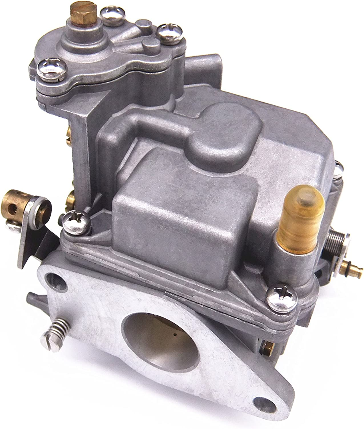 Boat Motor 66M-14301-12-00 Carburetor Assy for Yamaha 4-Stroke 15hp F15 Electric Start Outboard Engine