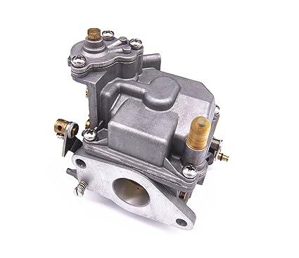amazon com boat motor 66m 14301 12 00 carburetor assy for yamaha 4 rh amazon com