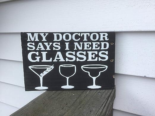 Enid18Bru My Doctor Dice Que Necesito Gafas Pallet Cartel ...