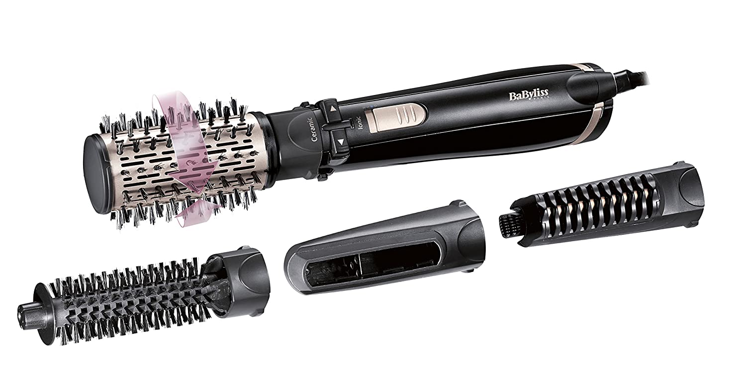 Babyliss as200e – Brush Rotating Ionico, 1000 W