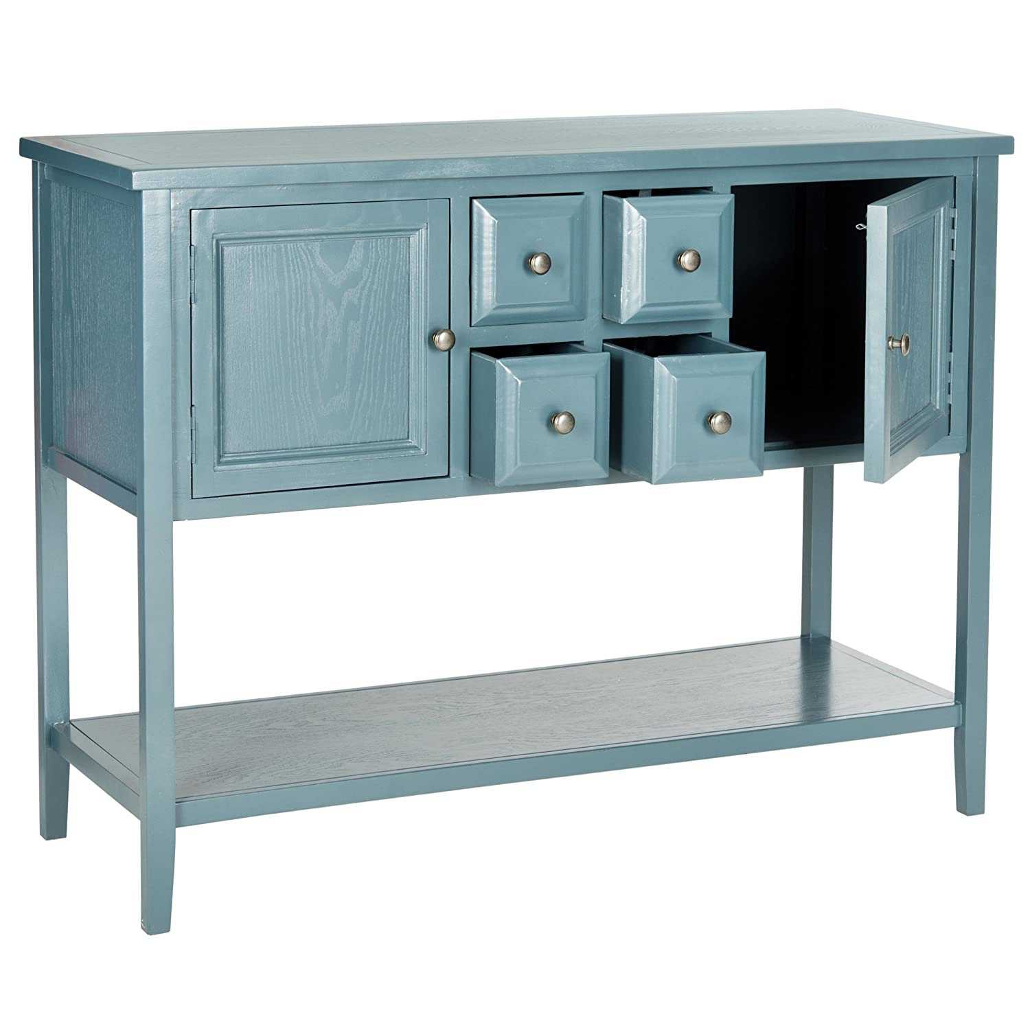 Merveilleux Amazon.com   Safavieh American Homes Collection Charlotte Slate Teal  Sideboard   Buffets U0026 Sideboards