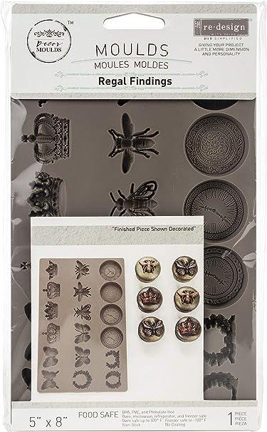 Food Safe Heat Resistant REGAL FINDINGS Re-Design Prima Decor Moulds Molds Resin Clay #638863