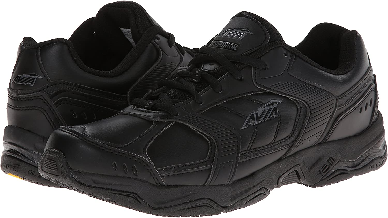 Avia Women/'s Avi-Union Service Shoe Slip//Oil Resistant #A1439WBSV Medium Width