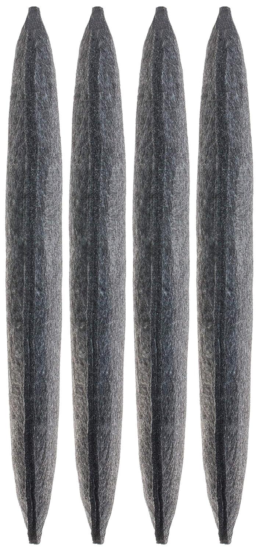 Anthrazit 2er-Vorteilspack Brandsseller /Ø 100/% Poliestere Cuscino Rotondo in Feltro