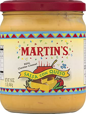 Martins Salsa Con Queso - 16 Oz. (2 Jars)