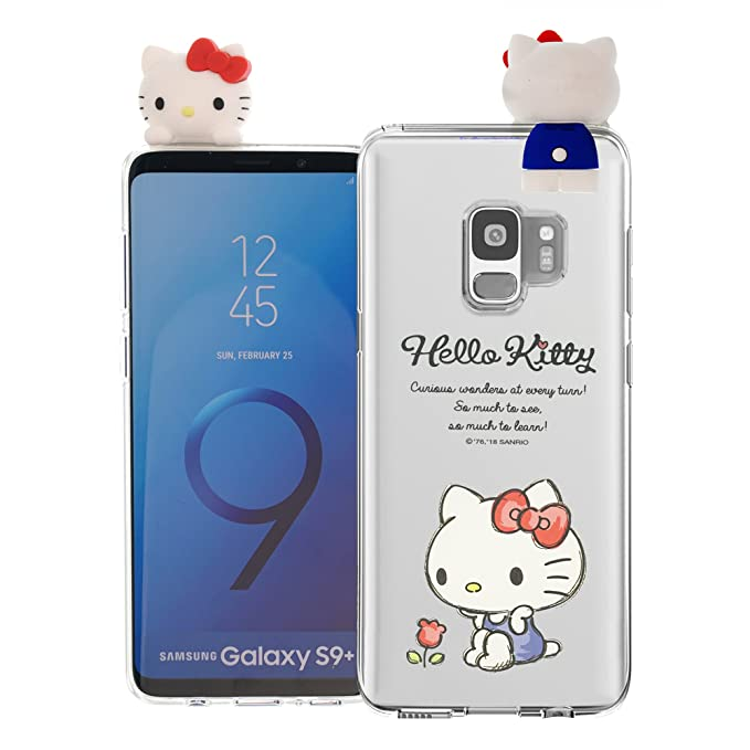 Amazon.com: Galaxy S9 Plus Case Hello Kitty Cute Figure Doll ...