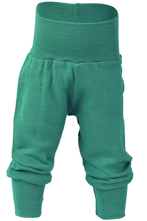 aff23183be89 Organic merino wool silk baby PANTS longies pajama bottom eco (12-24 ...