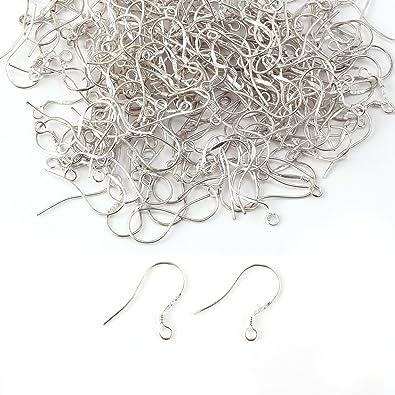 200x Supports Et Crochets Boucles D Oreilles En Argent 925 Et Cuivre