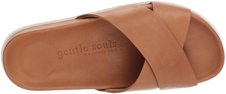 Gentle Souls Women's Ionela X-Band Pool Slide Sandal B077ZDSJ1P 9 M US|Cognac